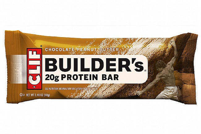 Clif Builders Protein Bars (Box of 12) Chocolate Peanut Butter