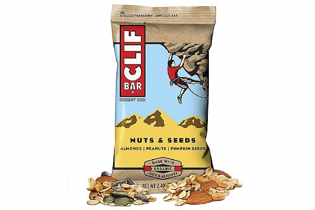 Clif Bars (Box of 12) Nuts & Seeds