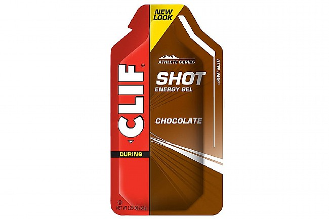 Clif Shot Energy Gels (Box of 24) Chocolate