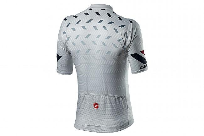 Castelli Mens Avanti Jersey Silver Grey