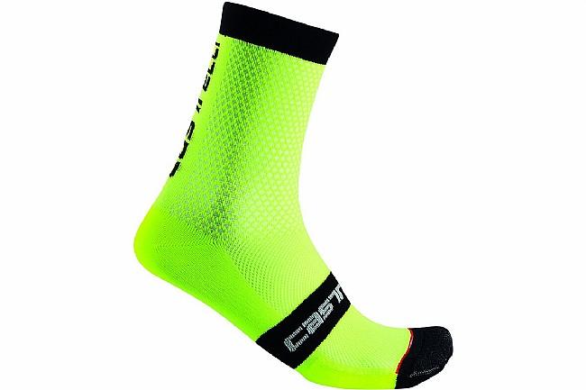 Castelli Superleggera 12 Sock Yellow Fluo