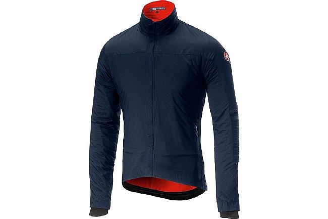 Castelli Mens Elemento Lite Jacket Dark Infinity Blue