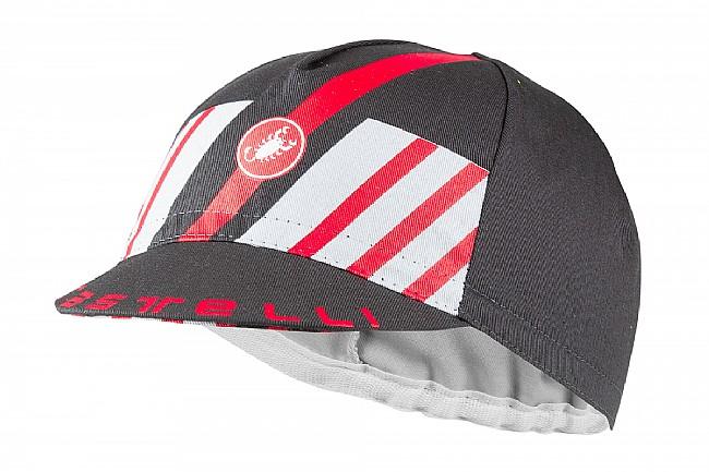 Castelli Hors Categorie Cap Dark Gray / Red - One Size