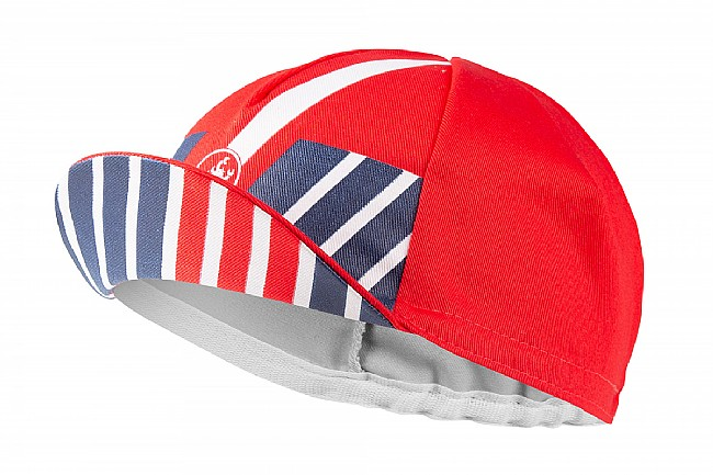 Castelli Hors Categorie Cap Red - One Size