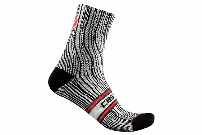 Castelli Womens Illusione Sock Black/White