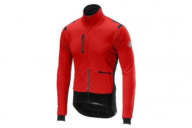Castelli Mens Alpha ROS Jacket Red / Black