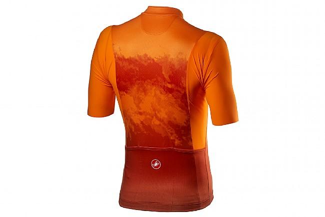 Castelli Mens Polvere Jersey Orange