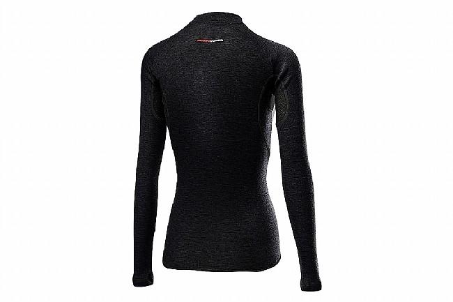 Castelli Womens Flanders 2 Warm Long Sleeve Baselayer Black