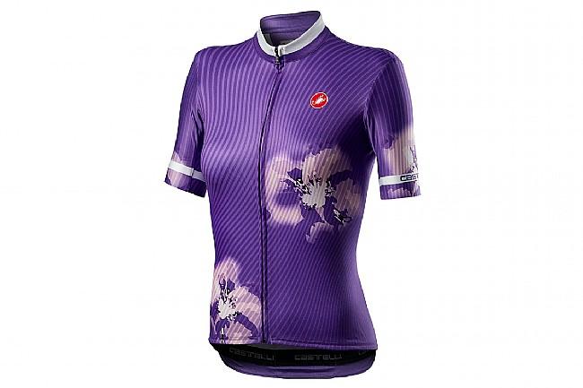 Castelli Womens Primavera Jersey Prism Violet