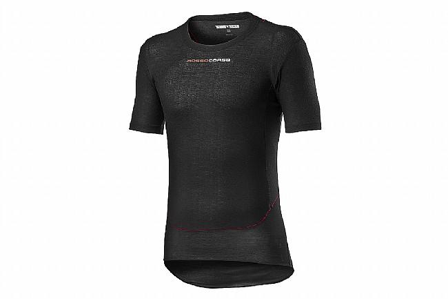 Castelli Mens Prosecco Tech Short Sleeve Baselayer Black