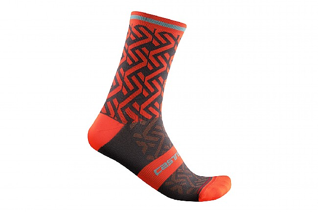 Castelli Tiramolla 15 Sock Fiery Red