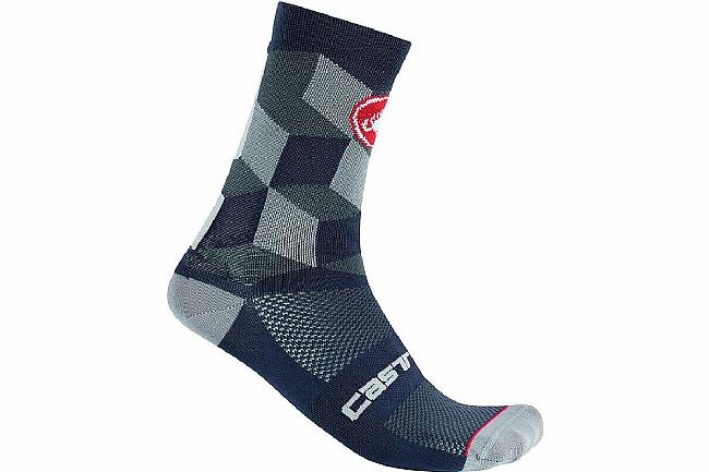 Castelli Unlimited 15 Sock Dark Gray