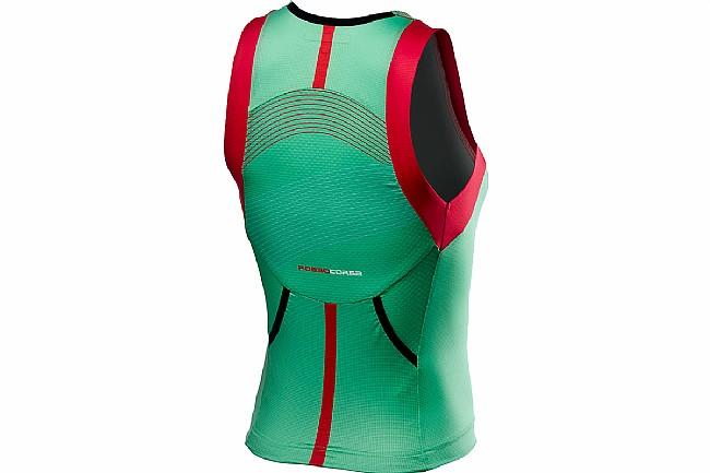 Castelli Womens Free Tri Singlet  Jade Green