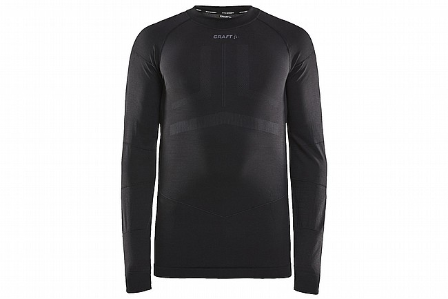Craft Mens Active Intensity Long Sleeve Baselayer Black/Asphalt