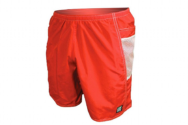 "De Soto Mens Solana Run Short 7"" Red - Small"