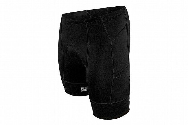 De Soto Mens Mobius Tri Short 4-Pocket Black
