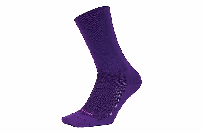 DeFeet Aireator 6 Inch Sock - D-Logo Purple