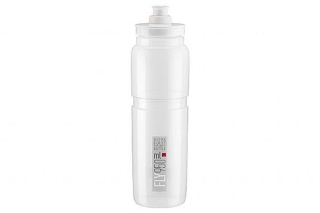 Elite Fly Bottle (950ml) Clear w/ Grey Logo