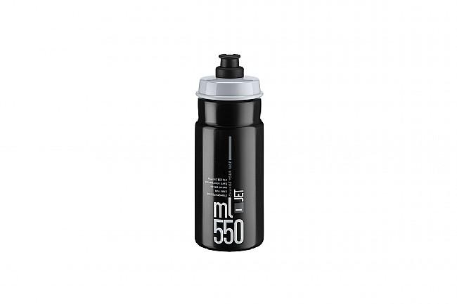 Elite Jet Water Bottle (550 ml) Black w/ Gray Logo