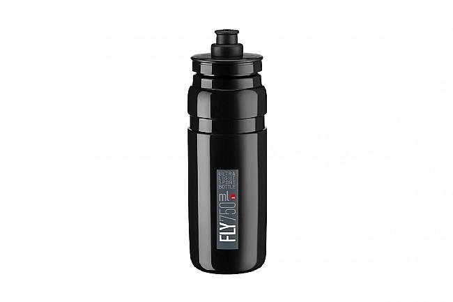Elite Fly Bottle (750ml) Black w/ Grey Logo