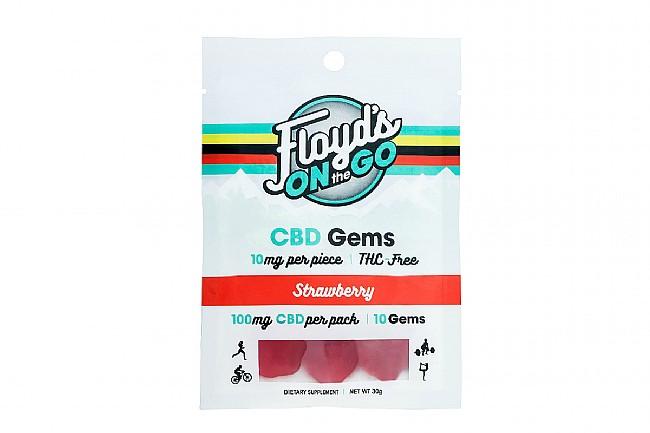 Floyds of Leadville CBD Gems 100mg Total (10 Servings) Strawberry