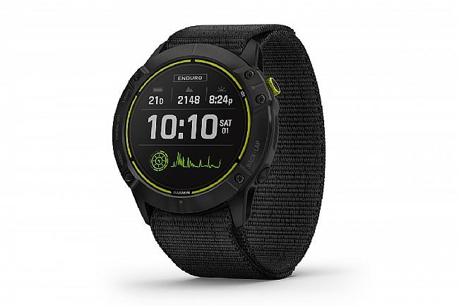 Garmin Enduro GPS Watch Black DLC w/Nylon Band
