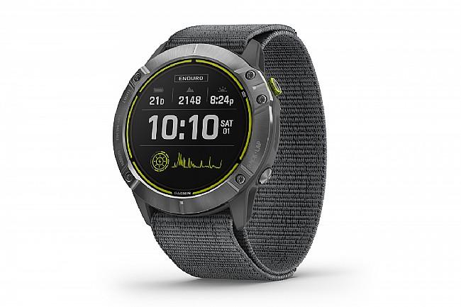 Garmin Enduro GPS Watch Silver w/Gray Body, Slate Band