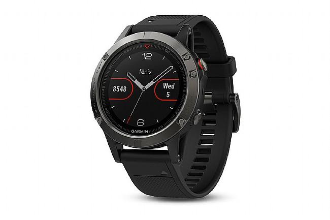 Garmin Fenix 5 GPS Watch Slate Gray - Black Band