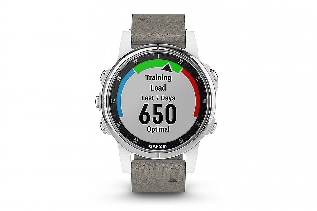 Garmin Fenix 5S Plus Sapphire Grey Suede GPS Watch Garmin Fenix 5s Plus Sapphire Grey Suede GPS Watch