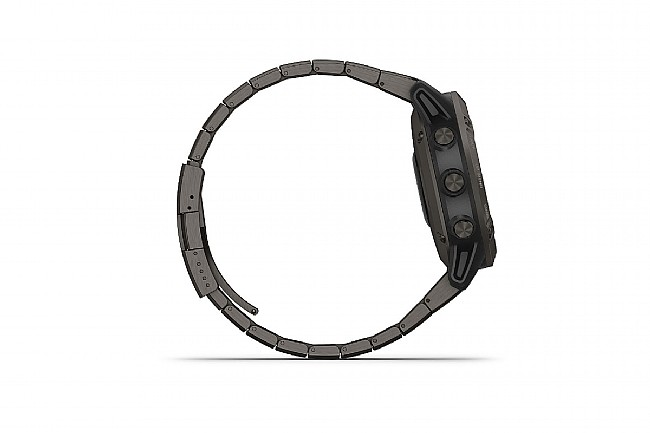Garmin Fenix 6 Pro Solar Titanium Carbon Gray DLC w/Ti DLC Band
