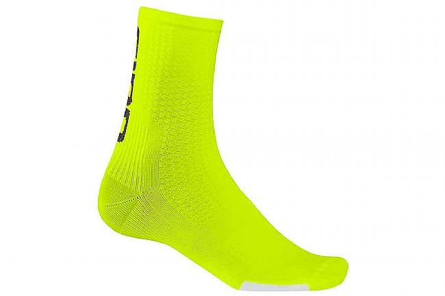 Giro HRc Team Sock Highlight Yellow/Black