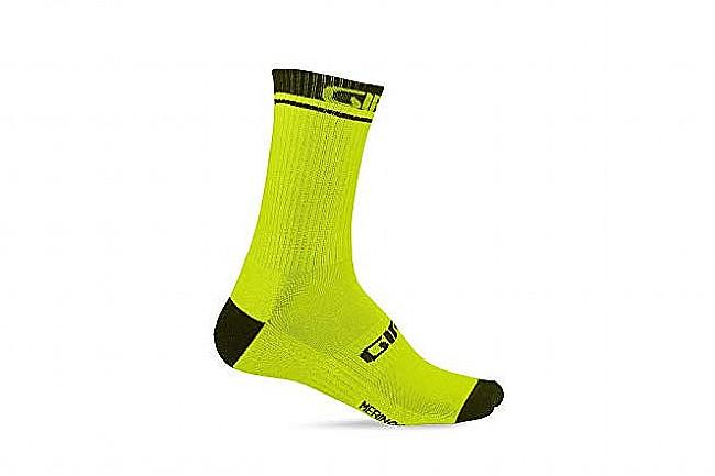 Giro Winter Merino Wool Sock Lime/Black