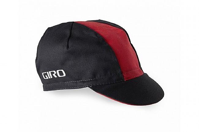 Giro Classic Cotton Cycling Cap Black/Red - One Size