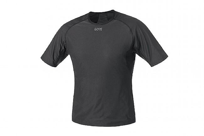 Gore Wear Mens Windstopper Baselayer SS Shirt Black
