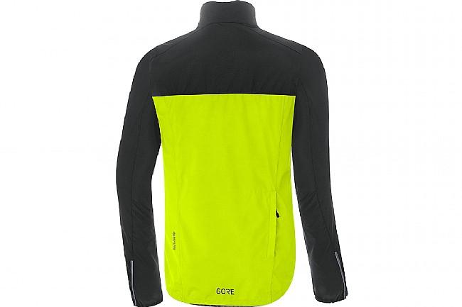 Gore Wear Mens Spirit Jacket Neon Yellow / Black