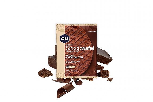 GU Energy Stroopwafel (Box of 16) Salted Chocolate (GF)