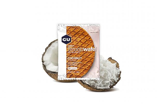 GU Energy Stroopwafel (Box of 16) Coconut (GF)
