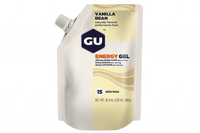 GU Energy Gel (15 Servings) Vanilla Bean