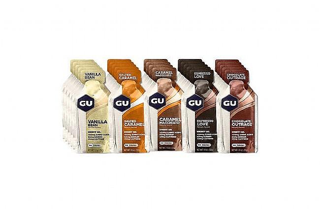 GU Energy Gels (Mixed Box of 24) Indulgent Gels