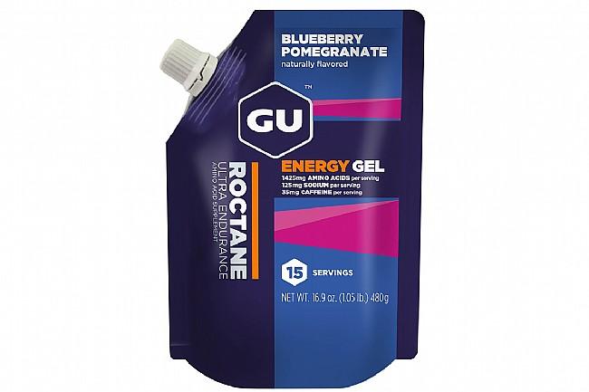 GU Roctane Energy Gel (15 Serving Pouch) Blueberry/Pomegranate