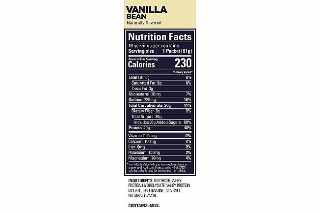 GU Roctane Protein Recovery (Box of 10) Vanilla Bean