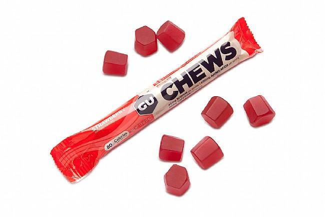 GU Energy Chews (Box of 18) Strawberry