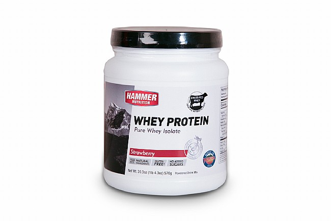 Hammer Nutrition Whey Protein Powder (24 Servings) Strawberry