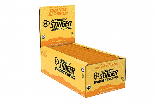 Honey Stinger Organic Energy Chews (Box of 12) Orange