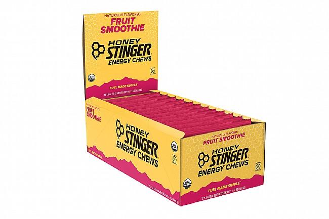 Honey Stinger Organic Energy Chews (Box of 12) Fruit Smoothie