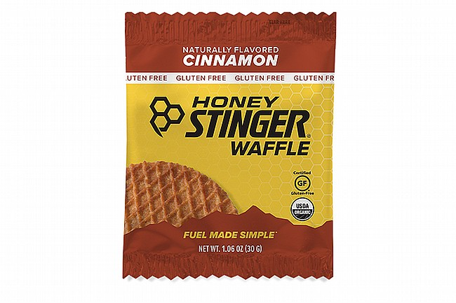 Honey Stinger Gluten Free Organic Waffles (12 Count) Cinnamon