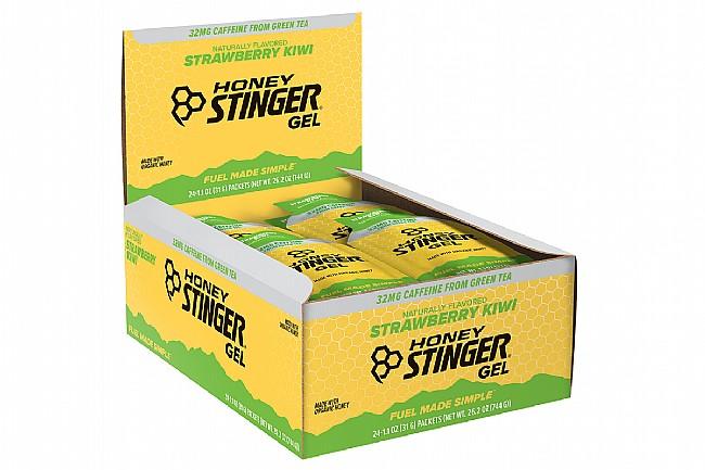 Honey Stinger Organic Energy Gels (Box of 24) Kiwi/Strawberry