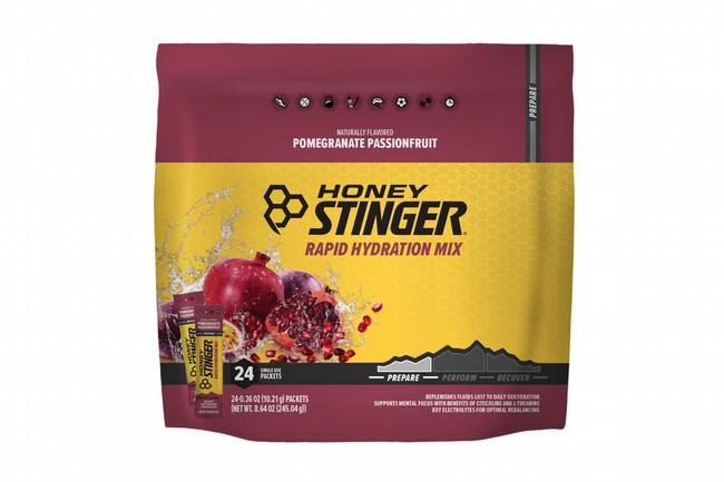Honey Stinger Rapid Hydration (24 Servings)  Prepare - Pomegranate Passionfruit