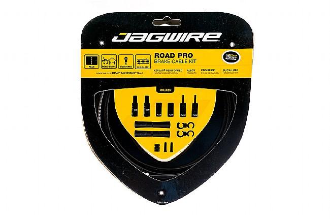Jagwire Pro Polished Brake Cable Kit Stealth Black (Matte) - Sram/Shimano
