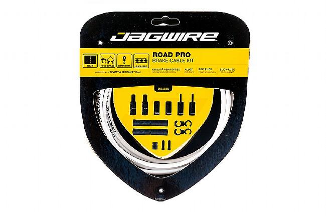 Jagwire Pro Polished Brake Cable Kit White - Sram/Shimano